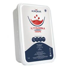Пюре из клубники заморозка Агробар 1 кг