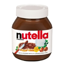 Шоколадная паста Nutella ореховая с добавлением какао 350 гр