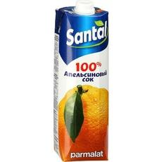 Сок Апельсиновый SANTAL 1 л